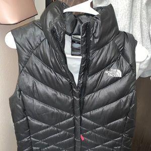 Black North Face Vest Size-Small